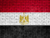 The Egyptian flag — Stok fotoğraf
