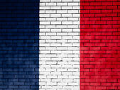 The French flag — Stok fotoğraf
