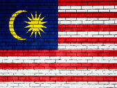 The Malaysia flag — Stock Photo