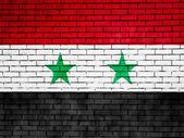 The Syria flag — Stock Photo