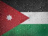 ヨルダンの旗 — ストック写真