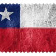 The Chile flag - Stock Photo