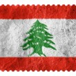 Lebanese flag — Stock Photo #15401027