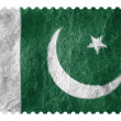 Pakistani flag — 图库照片 #15401125