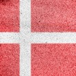 Danish flag — Stock Photo #15402135