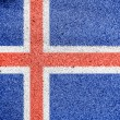 Icelandic flag — Stock Photo #15402507
