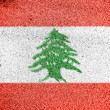 Lebanese flag — Stock Photo #15402651