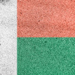 Madagascar flag — Stock Photo #15402681