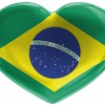 The Brazilian flag — Stock Photo #15403365