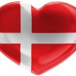 The Danish flag — Stock Photo #15403435