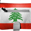 Lebanese flag — Stock Photo #15404439