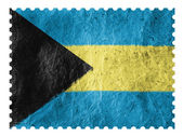 The Bahamas flag — Stockfoto