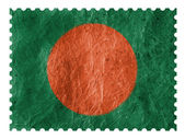 The Bangladesh flag — Stock Photo