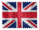 De britse vlag — Stockfoto