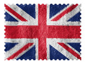 The British flag — Stockfoto