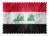 The Iraqi flag — Stock Photo
