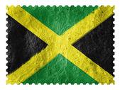 Der jamaika-flagge — Stockfoto
