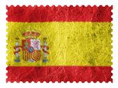испанский флаг — Стоковое фото