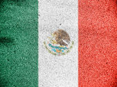 Flaga meksyku — Zdjęcie stockowe