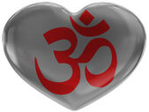 Hindu symbol — Stock Photo