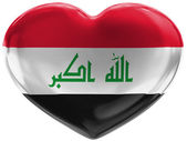 The Iraqi flag — Stockfoto