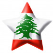 Lebanese flag — Stock Photo #23403844