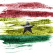 Stock Photo: Ghanflag