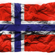 The Norwegian flag — Stock Photo #23406466