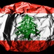 Lebanese flag — Stock Photo #23409234