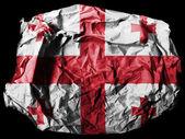 The Georgian flag — Foto de Stock