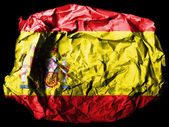The Spanish flag — Foto de Stock