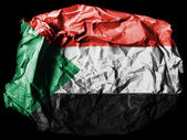 The Sudan flag — Foto Stock