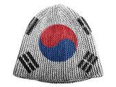 The South Korea flag — Foto Stock
