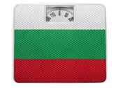 The Bulgarian flag — Stock Photo