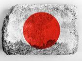 The Japan flag — Photo