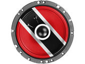Trinidad and Tobago flag painted on sound speaker — Stock Photo