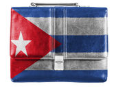 The Cuban flag — Foto Stock