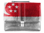 The Singapore flag — Foto Stock