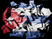 The Cuban flag — Foto Stock