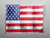 The USA flag — Stok fotoğraf