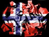 The Norwegian flag — Photo