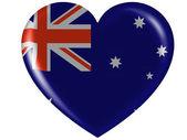 The Australian flag — Stock Photo