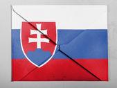 The Slovakia flag — Photo