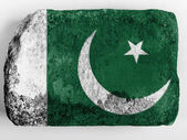 The Pakistani flag — Stock fotografie