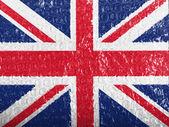 La bandera británica — Foto de Stock