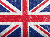 The British flag — Foto Stock