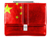 The Chinese flag — Foto Stock