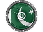 Pákistánské vlajka — Stock fotografie