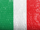 The Italian flag — Stockfoto