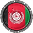 Royalty-Free Stock Photo: Afghanistan flag painted on sound  speaker